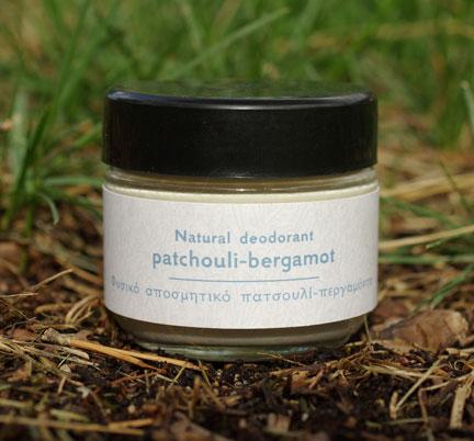 Patchouli & Bergamot deodorant