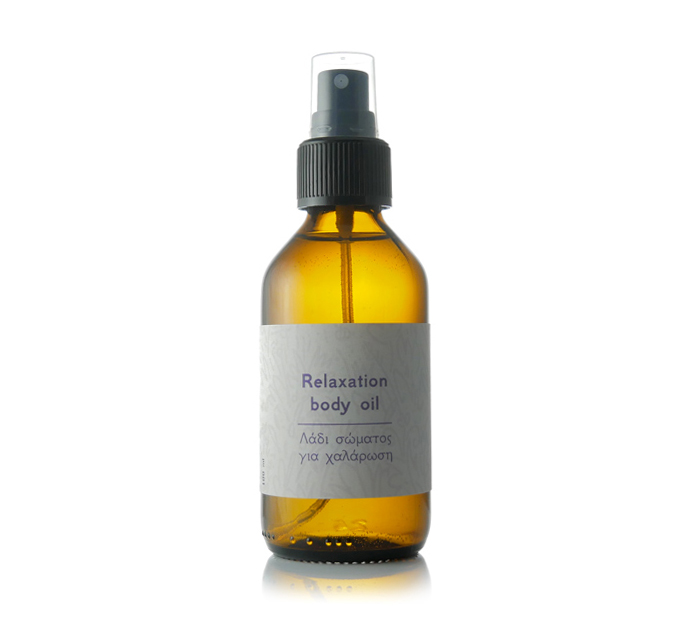 Body oil for relaxation
